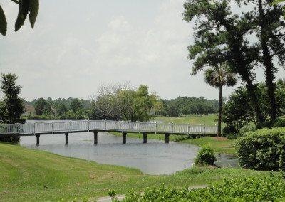 Bridge at entrance
