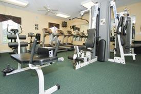 Brunswick House Fitness Room